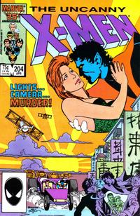 Cover Thumbnail for The Uncanny X-Men (Marvel, 1981 series) #204