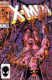 Cover Thumbnail for The Uncanny X-Men (Marvel, 1981 series) #205