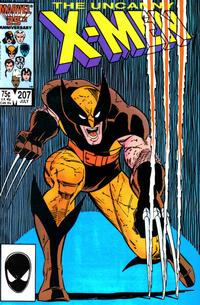 Cover Thumbnail for The Uncanny X-Men (Marvel, 1981 series) #207 [Direct]