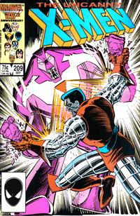 Cover Thumbnail for The Uncanny X-Men (Marvel, 1981 series) #209