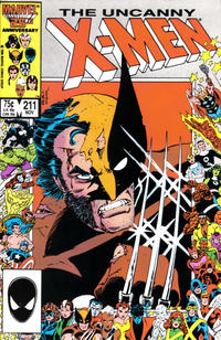 Cover Thumbnail for The Uncanny X-Men (Marvel, 1981 series) #211