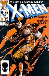 Cover Thumbnail for The Uncanny X-Men (Marvel, 1981 series) #212 [Direct]