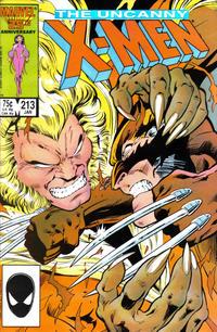 Cover Thumbnail for The Uncanny X-Men (Marvel, 1981 series) #213