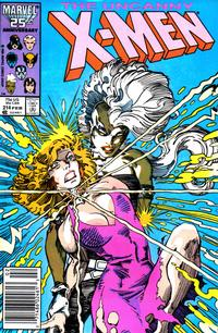 Cover Thumbnail for The Uncanny X-Men (Marvel, 1981 series) #214 [Newsstand]