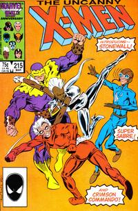 Cover Thumbnail for The Uncanny X-Men (Marvel, 1981 series) #215 [Direct]