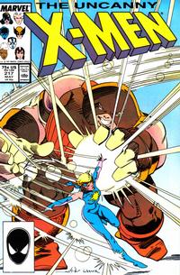 Cover Thumbnail for The Uncanny X-Men (Marvel, 1981 series) #217 [Direct]