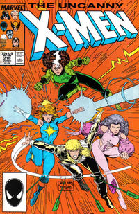 Cover Thumbnail for The Uncanny X-Men (Marvel, 1981 series) #218 [Direct]
