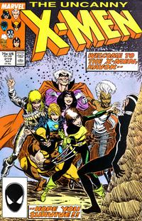 Cover Thumbnail for The Uncanny X-Men (Marvel, 1981 series) #219 [Direct Edition]