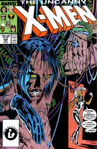 Cover Thumbnail for The Uncanny X-Men (Marvel, 1981 series) #220 [Direct Edition]