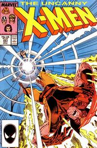 Cover Thumbnail for The Uncanny X-Men (Marvel, 1981 series) #221 [Direct Edition]