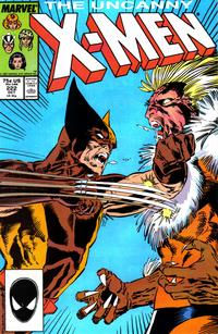Cover Thumbnail for The Uncanny X-Men (Marvel, 1981 series) #222 [Direct]