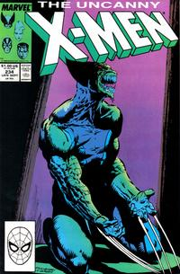 Cover Thumbnail for The Uncanny X-Men (Marvel, 1981 series) #234 [Direct]