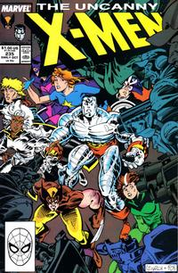 Cover Thumbnail for The Uncanny X-Men (Marvel, 1981 series) #235 [Direct]