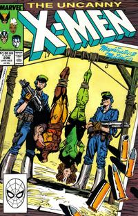 Cover Thumbnail for The Uncanny X-Men (Marvel, 1981 series) #236 [Direct]