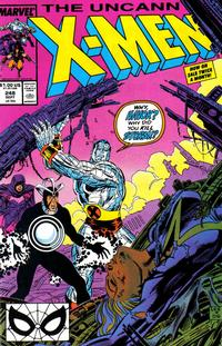 Cover Thumbnail for The Uncanny X-Men (Marvel, 1981 series) #248 [Direct]