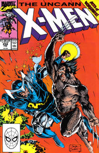 Cover Thumbnail for The Uncanny X-Men (Marvel, 1981 series) #258 [Direct Edition]