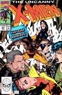 Cover Thumbnail for The Uncanny X-Men (Marvel, 1981 series) #261
