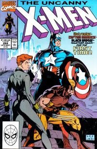 Cover Thumbnail for The Uncanny X-Men (Marvel, 1981 series) #268 [Direct]