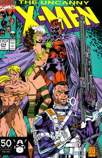 Cover Thumbnail for The Uncanny X-Men (Marvel, 1981 series) #274 [Direct]
