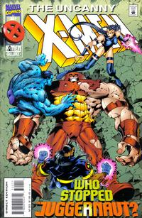 Cover for The Uncanny X-Men (Marvel, 1981 series) #322 [Direct Deluxe Edition]
