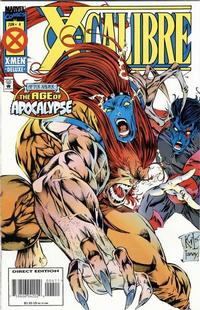 Cover Thumbnail for X-Calibre (Marvel, 1995 series) #4 [Direct Edition]