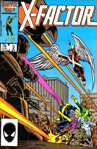 Cover Thumbnail for X-Factor (Marvel, 1986 series) #3 [Direct Edition]