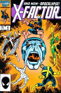 Cover Thumbnail for X-Factor (Marvel, 1986 series) #6 [Direct Edition]