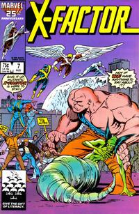 Cover Thumbnail for X-Factor (Marvel, 1986 series) #7 [Direct]