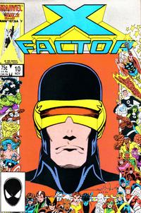 Cover for X-Factor (Marvel, 1986 series) #10 [Direct Edition]
