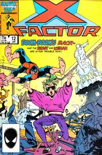 Cover Thumbnail for X-Factor (Marvel, 1986 series) #12 [Direct]
