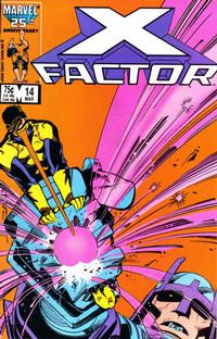 Cover Thumbnail for X-Factor (Marvel, 1986 series) #14 [Direct Edition]