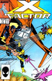 Cover Thumbnail for X-Factor (Marvel, 1986 series) #17 [Direct Edition]