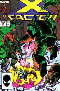 Cover Thumbnail for X-Factor (Marvel, 1986 series) #21 [Direct Edition]