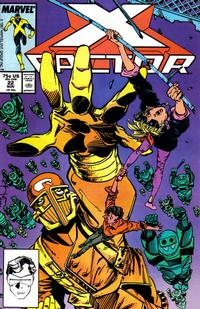 Cover Thumbnail for X-Factor (Marvel, 1986 series) #22 [Direct Edition]