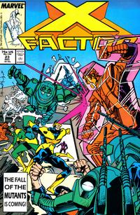 Cover Thumbnail for X-Factor (Marvel, 1986 series) #23 [Direct Edition]
