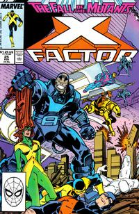 Cover Thumbnail for X-Factor (Marvel, 1986 series) #25 [Direct Edition]