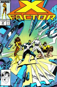 Cover Thumbnail for X-Factor (Marvel, 1986 series) #28 [Direct Edition]