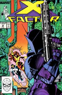 Cover Thumbnail for X-Factor (Marvel, 1986 series) #35 [Direct Edition]