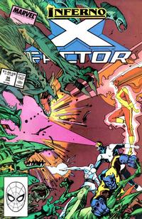 Cover for X-Factor (Marvel, 1986 series) #36 [Direct Edition]