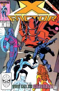Cover Thumbnail for X-Factor (Marvel, 1986 series) #43 [Direct]