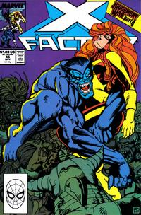Cover Thumbnail for X-Factor (Marvel, 1986 series) #46 [Direct Edition]