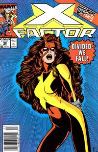 Cover for X-Factor (Marvel, 1986 series) #48 [Direct Edition]