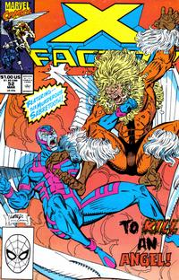 Cover Thumbnail for X-Factor (Marvel, 1986 series) #52 [Direct Edition]