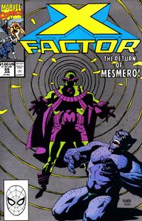 Cover Thumbnail for X-Factor (Marvel, 1986 series) #55 [Direct Edition]