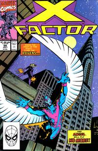 Cover Thumbnail for X-Factor (Marvel, 1986 series) #56 [Direct Edition]