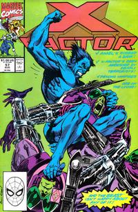 Cover Thumbnail for X-Factor (Marvel, 1986 series) #57 [Direct Edition]
