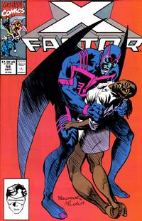Cover Thumbnail for X-Factor (Marvel, 1986 series) #58 [Direct Edition]