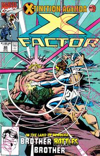 Cover Thumbnail for X-Factor (Marvel, 1986 series) #60 [Direct Edition]