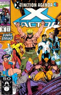 Cover for X-Factor (Marvel, 1986 series) #62 [Direct Edition]