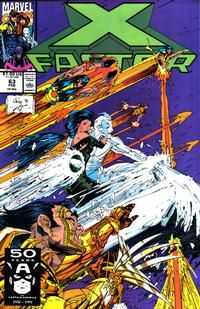 Cover for X-Factor (Marvel, 1986 series) #63 [Direct Edition]